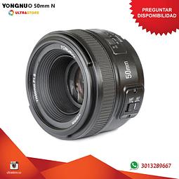 Yongnuo YN 50mm f1.8 para Nikon DX FX
