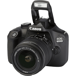 Canon 4000D / T100 18-55mm III Memoria 32gb Estuche