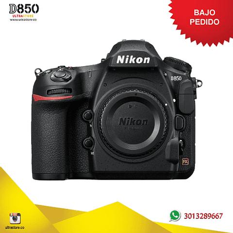 Nikon FX D850 Cuerpo 45.7 Mpx con Memoria 32gb y Estuche