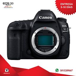 Canon 5D Mark IV 30.4 mpx Cuerpo con Memoria 32gb y Estuche