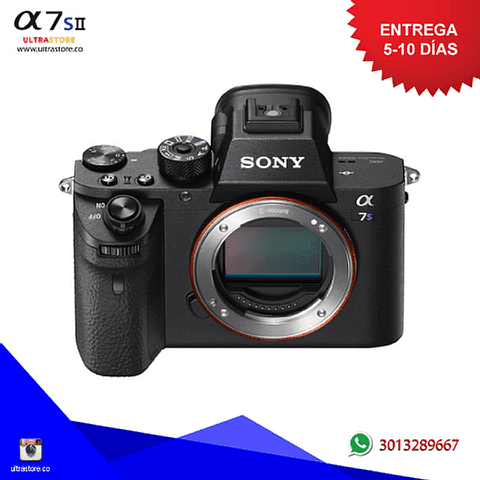 Sony Alpha A7S II Cuerpo Mirrorless 12.2mpx Video 4K con Memoria 32gb y Estuche