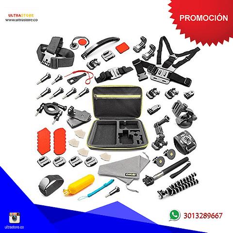 Kit de 50 Accesorios para GoPro SjCam Sport Cam y más