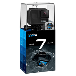 Cámara Gopro Hero 7 Black 12mpx Video 4K Ultra HD Wifi Gps Táctil