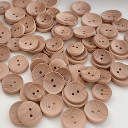 Botones Madera - CÓNCAVOS