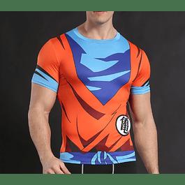 Polera Compresion Goku Dragon Ball