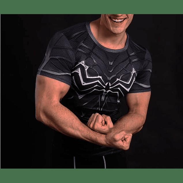 Polera Venom Manga Corta