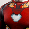 Polera Compresión Iron Man Manga Larga