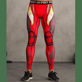 Calzas Masculinas Iron Man