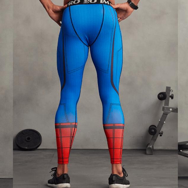 Calzas masculinas Spiderman