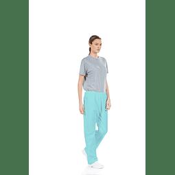 Calça Unissexo Verde para Vestuário Hospitalar