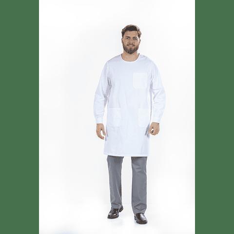 Bata Médica Branca (Refª BTU101)