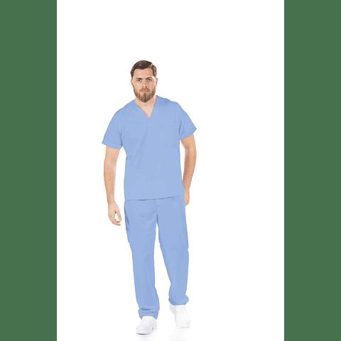 Conjunto Farda Azul Hospitalar Unissexo