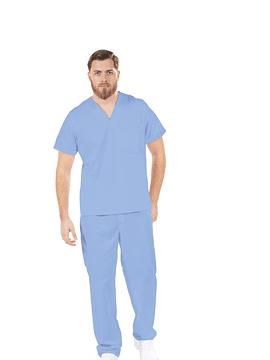 Pijama Cirúrgico Azul Unissexo
