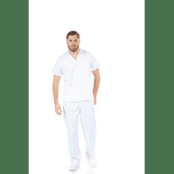Pijama Cirúrgico Branco Unissexo