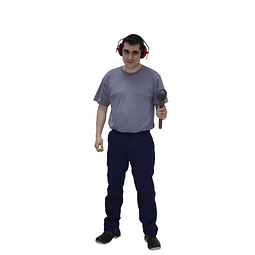 Calça de Trabalho Masculina