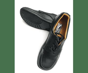 Zapato Negro Cuero