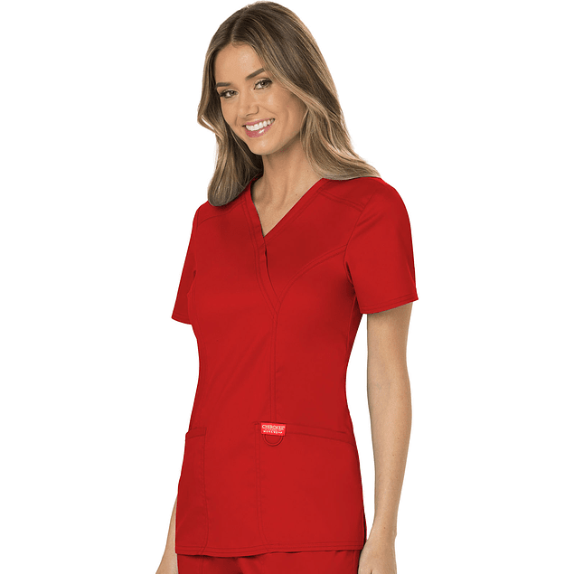 Top M WW610 Red Workwear Rojo