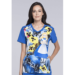 Estampado M TF637 Alga Disney Alices Garden Party