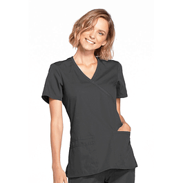 Top Cherokee Workwear Gris (Pewter) Ww650 Pwtw