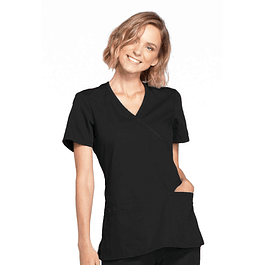 Top Mujer Cherokee Workwear Negro  (Black) Ww650 Blkw
