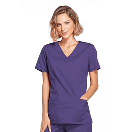 Top Mujer Cherokee Morado 4728 Grpw Grape