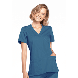 Top Cherokee  Workwear Caribbean Blue Ww650 Carw