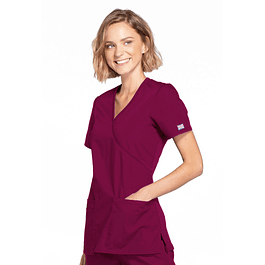 Top Cherokee Workwear Wine WW650-WINW