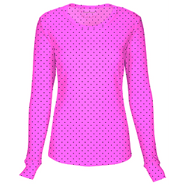 Polera 20801 Lepi Letpolka Dot Pink Party