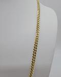 Cadena de eslabón cubano (sólida) 10k 46.3g 24 pulgadas