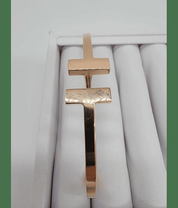 Pulso tiffany oro rosa 14k 8.5g Size 7