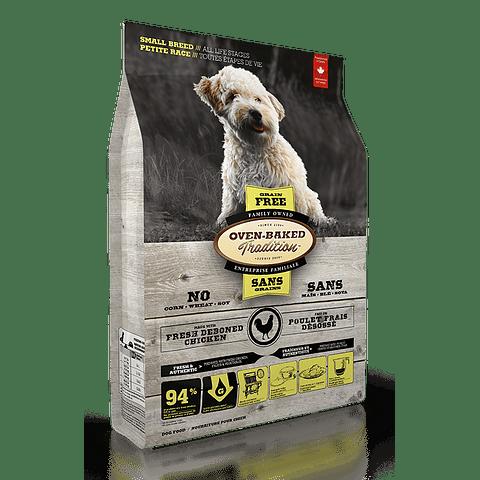 Oven Baked Grain free Pollo Razas Pequeñas/Todas Las Edades