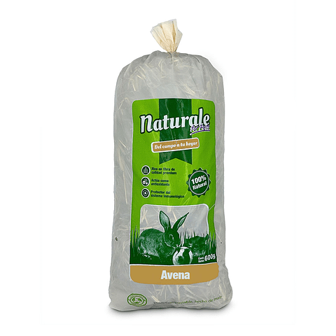 Heno de Avena Naturale for Pets 600 Gr