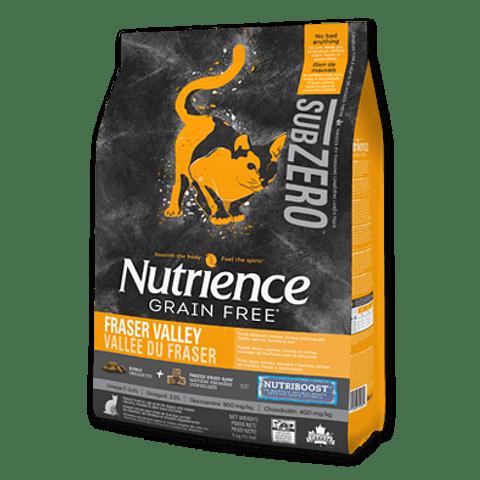 Nutrience Subzero Fraser Valley Gatos