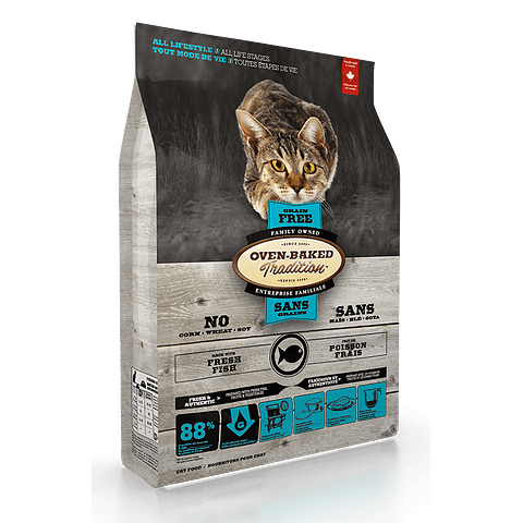 OBT Grain free Gato Salmon All Lifestyle / All life Stage