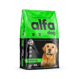 Alfa Dog Adulto Raza Mediana-Grande 20 Kg