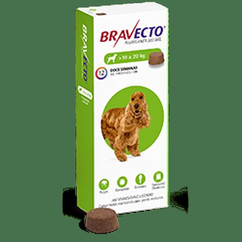 Bravecto 500 Mg - 10 a 20 Kg