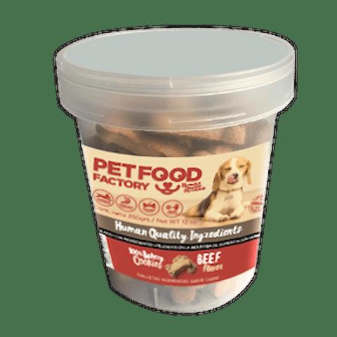 Pet Food Factory Galletas Sabor Carne