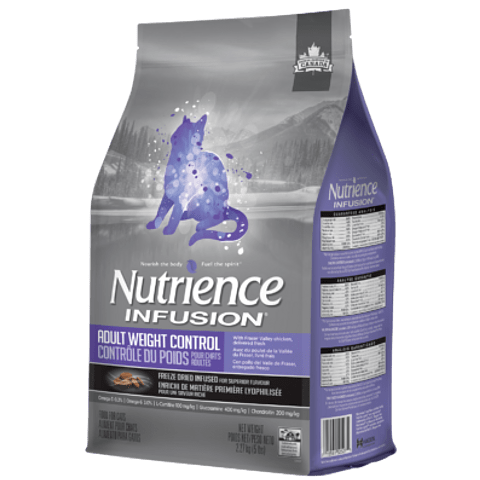 Nutrience Infusion Gato Adulto Control Peso 5 Kg