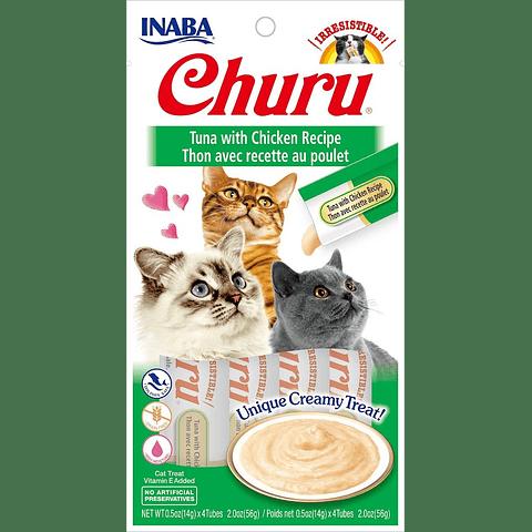 Inaba Churu Atun Con Pollo 56 Gr