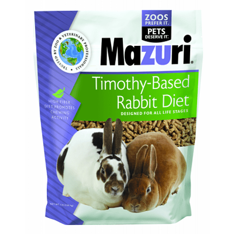 Mazuri Timothy Conejo 2,5 kg