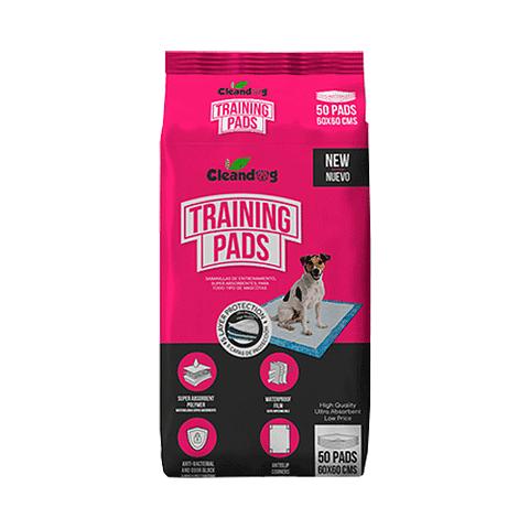 Cleandog Training Pads (50 UN) 60 x 60 cm