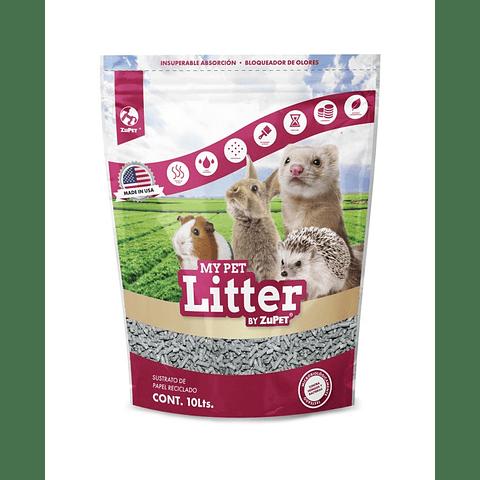 My Pet Litter sustrato de papel reciclado 10 L