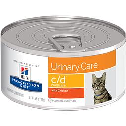 Hill's Felino c/d Urinary Care Alimento Húmedo 156 Gr.