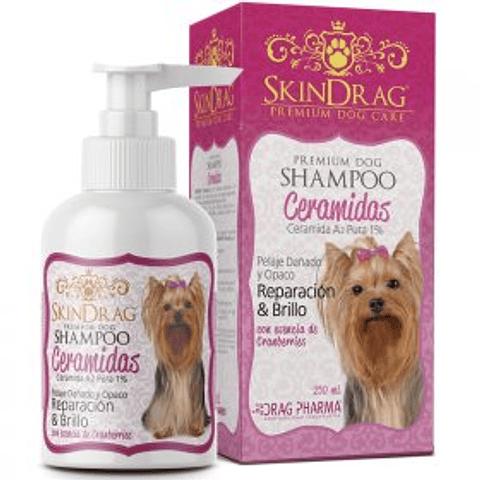 SkinDrag Shampoo Ceramidas para perros 250 ml.