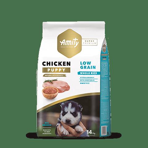 Amity Pollo Puppy Low Grain 14 kg