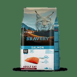 Bravery Salmon Adulto Esterilizado 2 Kg