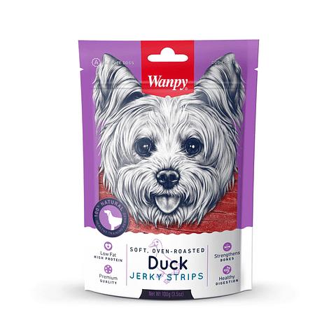 Wanpy Duck Jerky Strips 100 gr