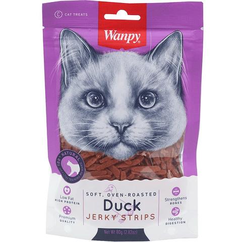 Wanpy Duck Jerky Strips 80 gr.