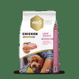 Amity Pollo Adulto Low Grain 4 kg