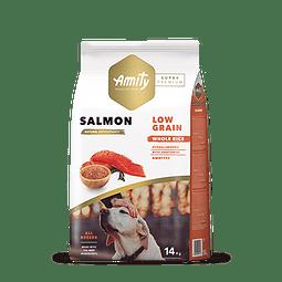 Amity Salmon Adulto Low Grain 14 kg